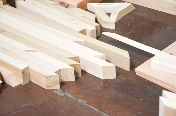 Sneak peek wood workshop hellagood for Wood floor 45 degree angle